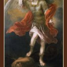 St. Michael the Archangel Prayer Card PC#282