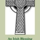 Irish Blessing Prayer Card PC#284