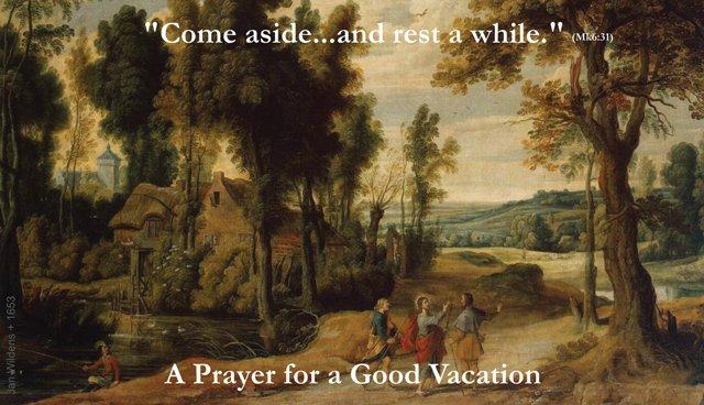 Vacation Prayer Card PC#303