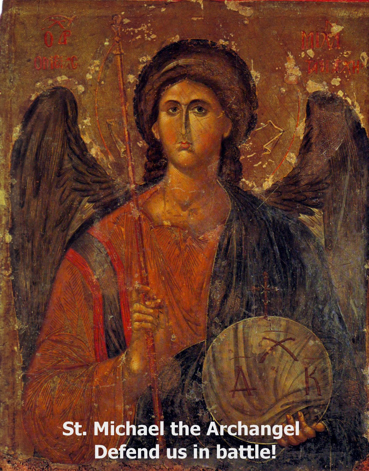 St. Michael the Archangel Magnet #Mag-5