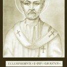 ST TELESPHORUS PRAYER CARD PC#130