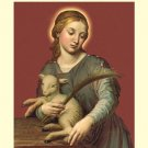 ST AGNES  Prayer Card PC#164