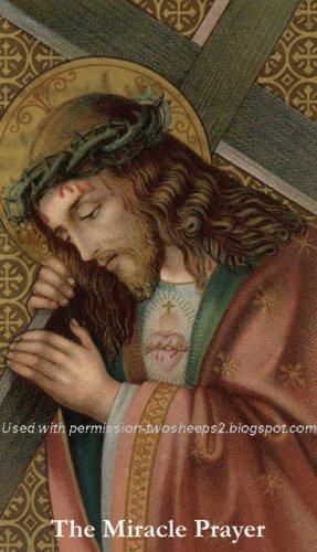 Miracle Prayer Holy Card PC#319