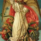 *SPANISH* ST MICHAEL PRAYER CARD PC#362