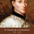 St. Claude de la Colombiere Holy Card PC#341