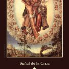 *SPANISH* SIGN OF THE CROSS HOLY CARD PC#351