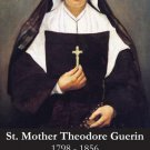 St. Mother Theodore Guerin Holy Card PC#342