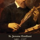 St. Jerome Emiliani Holy Card #344