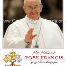 Special Limited Edition Collector's Series Commemorative Pope Francis Prayer Card #432