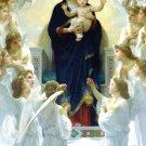 HAIL HOLY QUEEN PRAYER CARD PC#98L