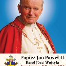 POLISH Special Limited Edition Collector's Series Commemorative Pope John Paul II Prayer Card #480