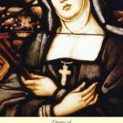 St. Jane Frances de Chantel Holy Card PC#285