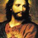 SACRED HEART OF JESUS PRAYER CARD PC#15L