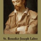 St. Benedict Joseph Labre Prayer Card PC#511
