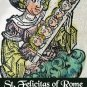 St. Felicitas Holy Card PC#431