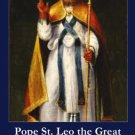 PC-525 Pope Saint Leo the Great Holy Card