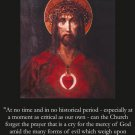 Plea for Peace Holy Card PC# 604