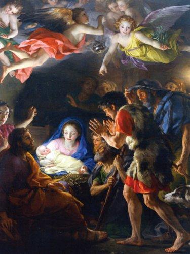 Christmas Anticipation Prayer Card *LARGE* PC269L