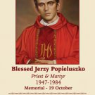 Blessed Jerzy Popieluszko Prayer Card PC-594
