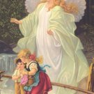 *SPANISH* Guardian Angel Prayer Card PC#579