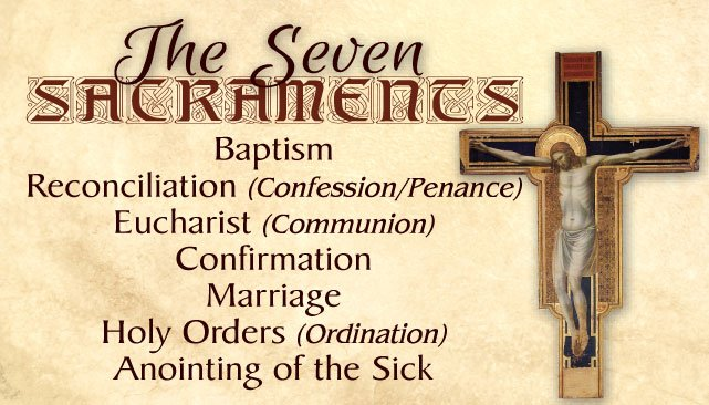 Seven Sacraments/Seven Gifts of the Holy Spirit PC#596