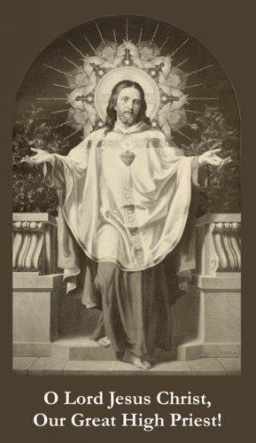 Jesus Great High Priest Prayer Card PC#302