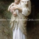 Madonna & Child w/ Lamb Magnet Mag#34