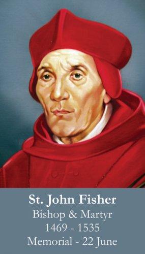 St. John Fisher Prayer Card PC#411
