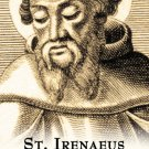 St. Irenaeus Prayer Card PC#430
