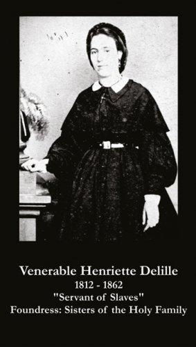 Venerable Henriette Delille Prayer Card PC#620