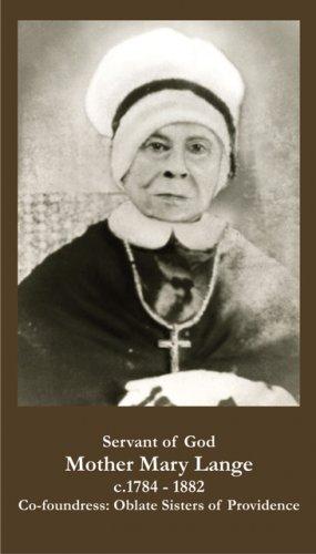 Servant of God Mother Mary Lange PC#621