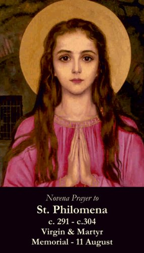 St. Philomena Prayer Card PC#151
