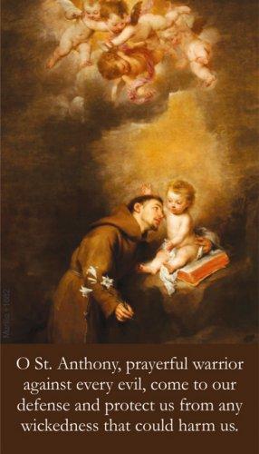 St. Anthony's Brief Prayer Card PC#627
