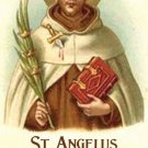 St. Angelus Prayer Card PC#632