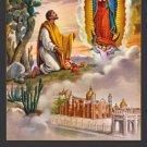St. Juan Diego Bilingual Holy Card PC#199