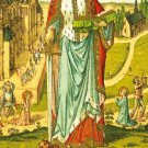 St. Dymphna Prayer Card PC#550