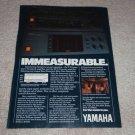 Yamaha M-70x Amp, T-70 Tuner, C-70 Pre Ad, 1982,Article