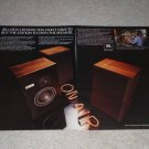 JBL L19 Speaker Ad, 2 pages, 4301 match, Beautiful Ad!