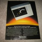 Technics SL-15 Turntable Ad from 1981,upside down!