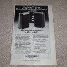 "Electro-Voice CD 35,35i Speaker AD, Specs, 6""x9"" ,1983"