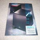 Velodyne VA-810,VA-1012 Sub Ad from 1992,RARE!