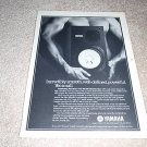 Yamaha Mini-Monitor NS-10m Speaker Ad from 1982