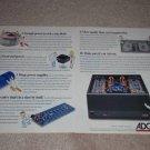 Adcom GFA-5800 Monster Amp Ad, 1994,Inside View,4 pgs
