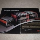 Nakamichi DRAGON Cd Player Ad, Ultra-RARE! 2 pgs, 1995