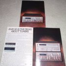 Pioneer SA 9800,TX 9800,3 pg Ad,specs,features, RARE!