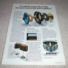 Bose 901 Speaker AD from 1978, Series III, color