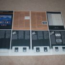 Phase Linear Series II Amps  Brochure, 8 pgs, D-500,700