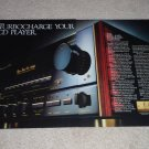 Pioneer ElitE A-91D Amplifier Ad, 1987,2 pgs, Article