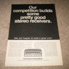Marantz Model 18 Receiver AD, LEGENDARY 1st one! 1968