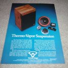 Cerwin Vega S1 Speaker Ad from 1977, color, RARE!
